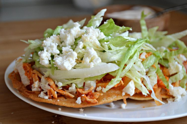 Tinga Tostadas - My Latina Table