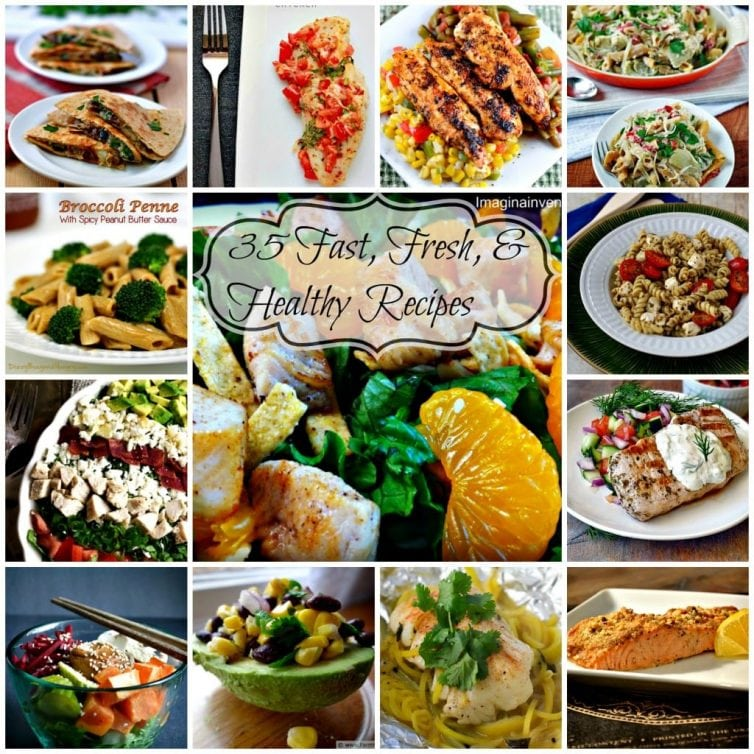 fresh fast healthy meals