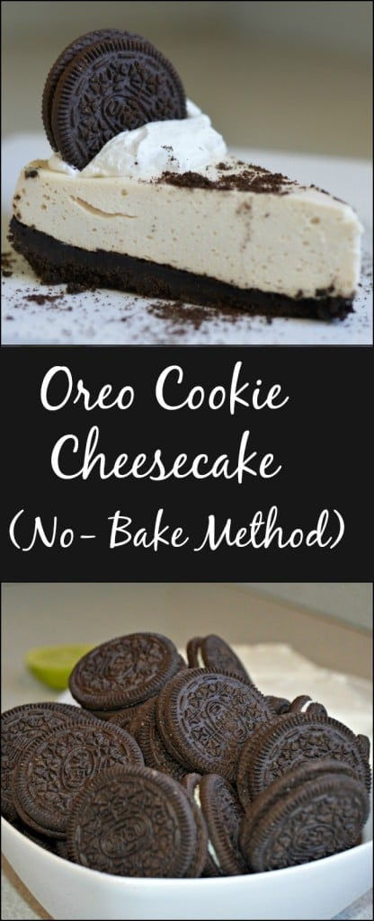 oreo cookie cheesecake nobake method  my latina table