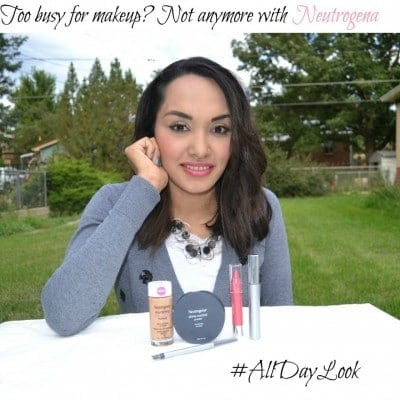 My #AllDayLook with Neutrogena products!