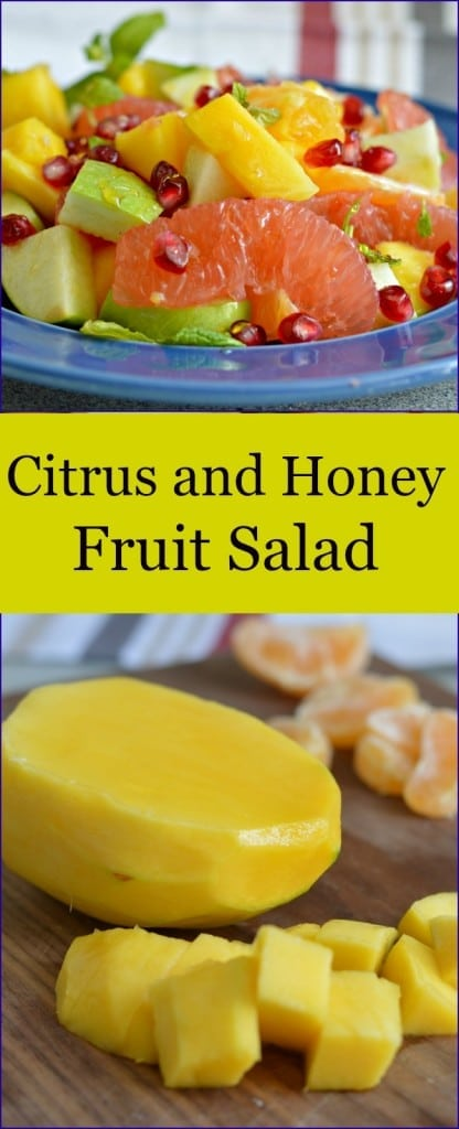 This is perfect for those days when you want something light, fresh, and delicious. The fruits go together perfectly.
