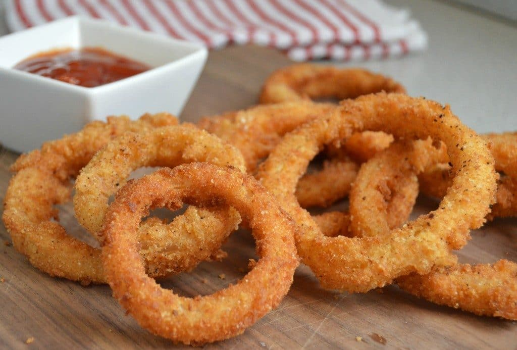 Extra Crispy Onion Rings Image