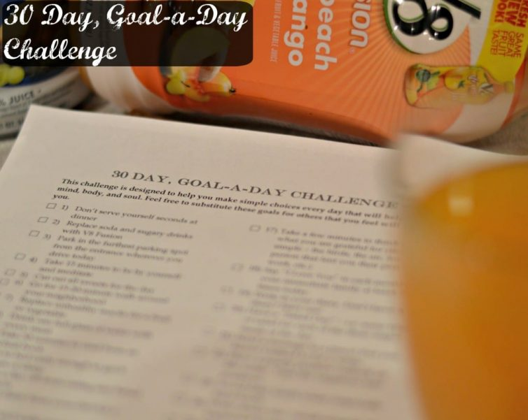 30 Day Goal A Day