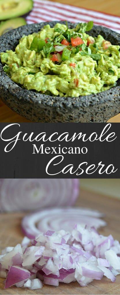 Esta es la mejor receta para guacamole casero. No solamente es sencillo prepararlo, pero también es delicioso.
