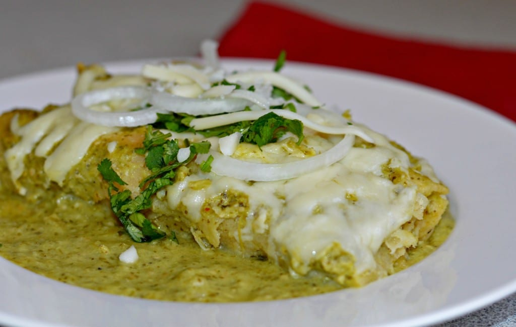 Homemade Enchiladas Verdes - My Latina Table