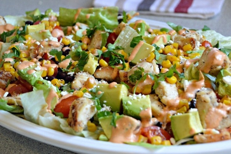 Southwest Chipotle Chicken Salad