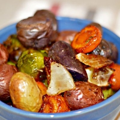 Roasted Vegetables with Fresh Herbs