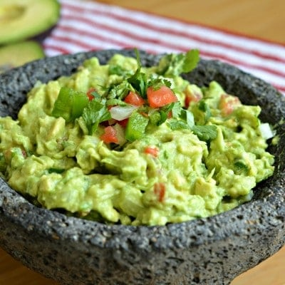 Homemade Mexican Guacamole Recipe