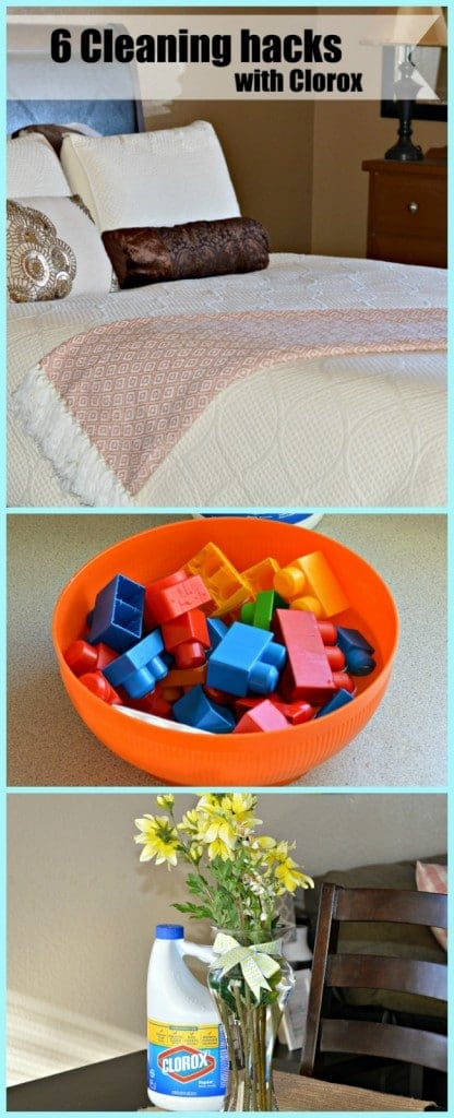 "Did you know that you can do all of these things with Clorox? Check out these 6 ""hacks""."