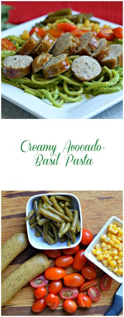 This creamy avocado-basil pasta is so fresh and delicious. The combination of avocado and fresh basil makes for a perfectly fresh dish for any meal.