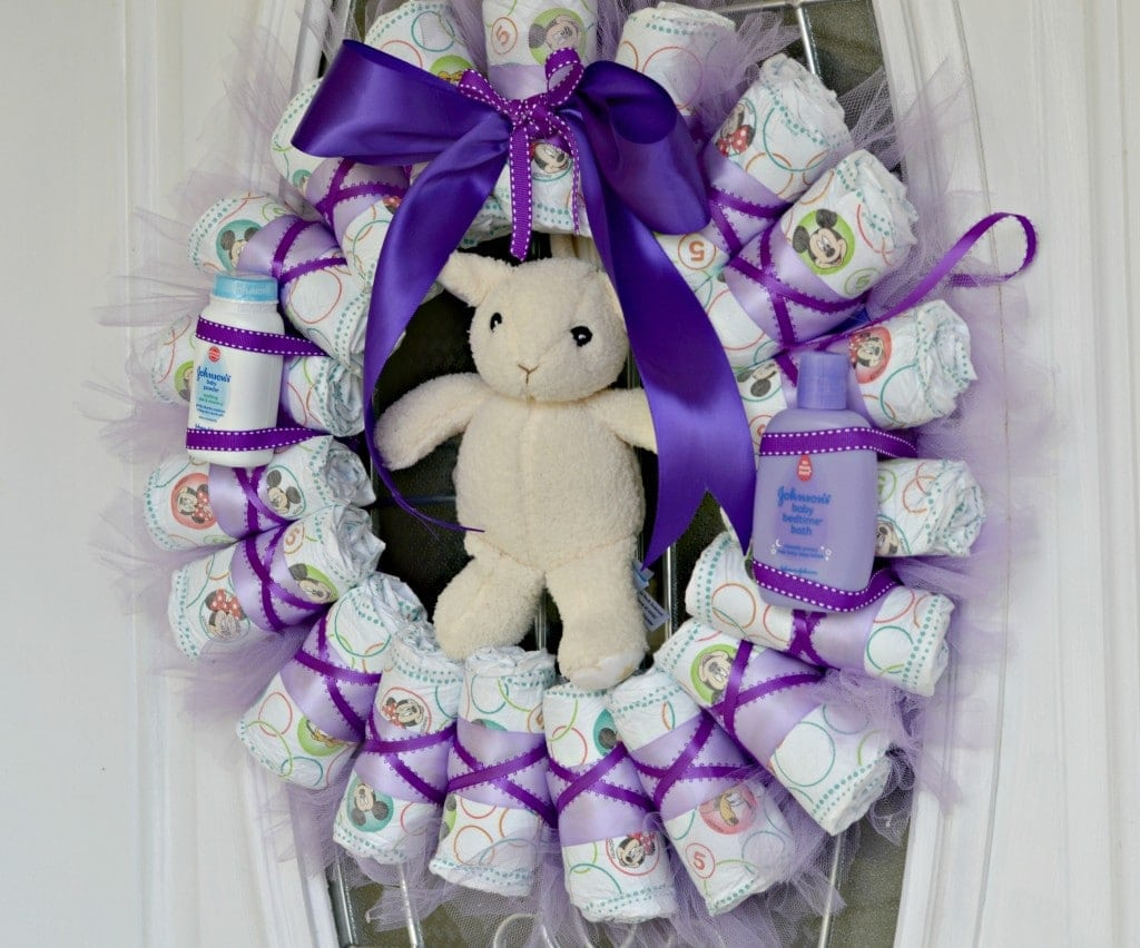 Huggies wreath