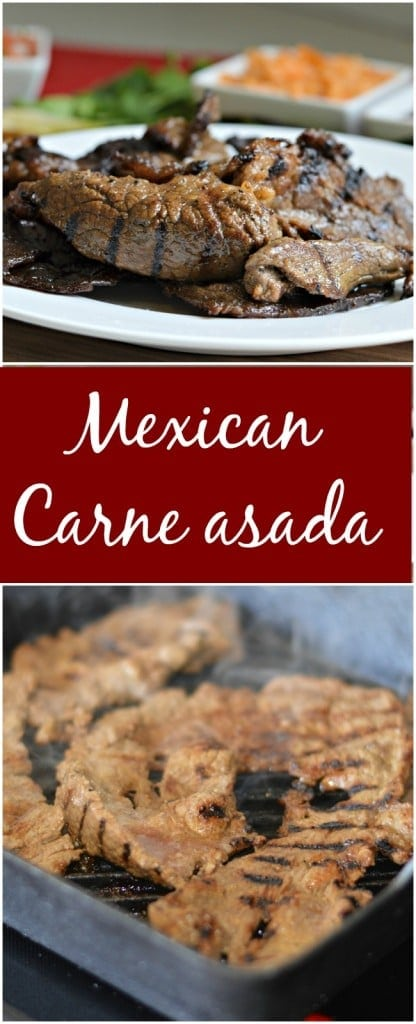 Carne Asada is a Mexican staple and you will find it served at most parties and other gatherings. This recipe is very easy to make, but you will not want to stop eating it!