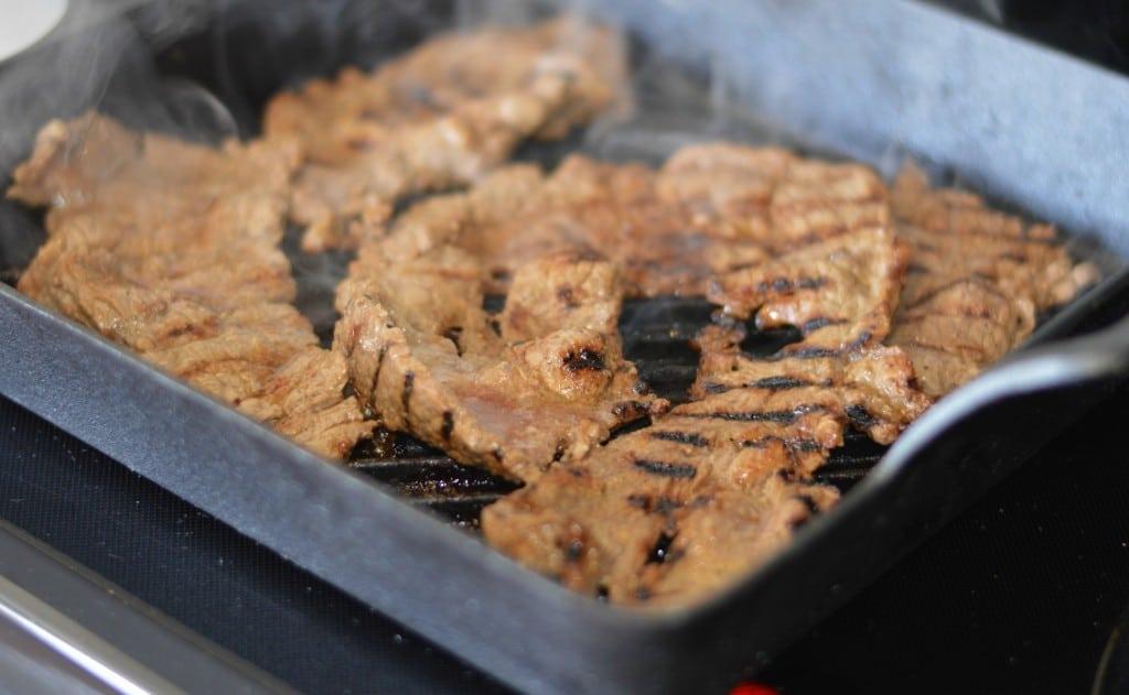 Carne Asada indoor grill
