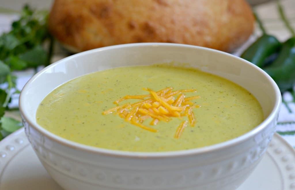 cheddar' jalapeño soup