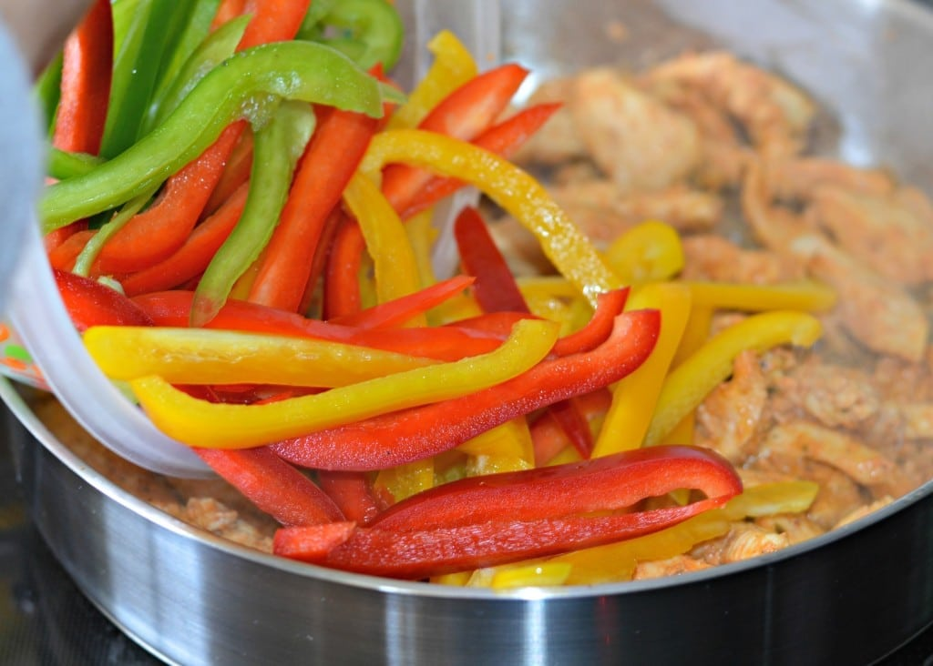 chicken fajitas 9