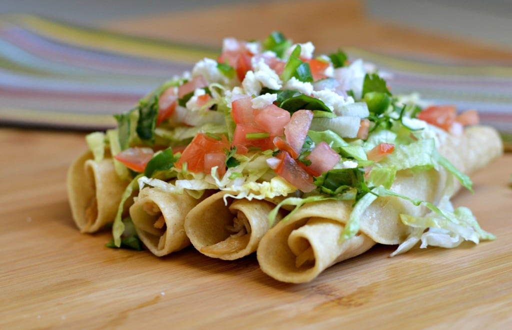 chicken flautas 6