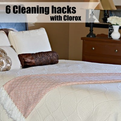 6 Cleaning Hacks with Clorox