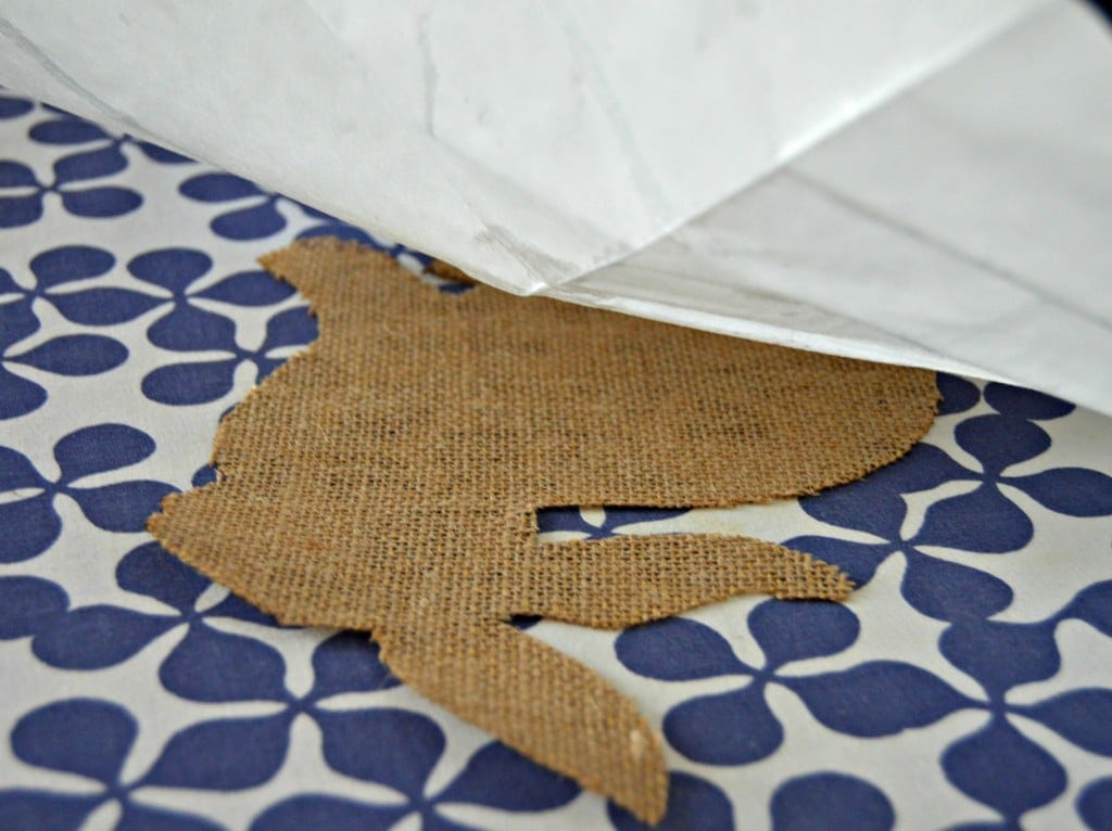DIY Easter Bunny Pillowcase
