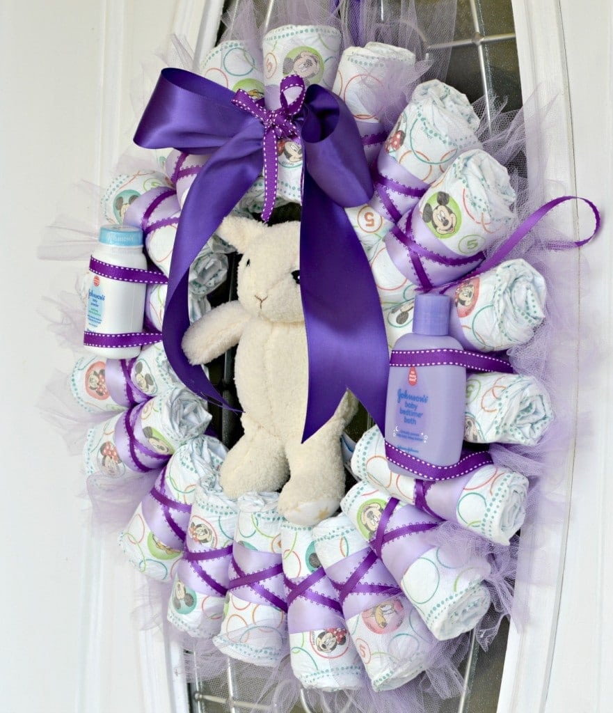huggies wreath 2
