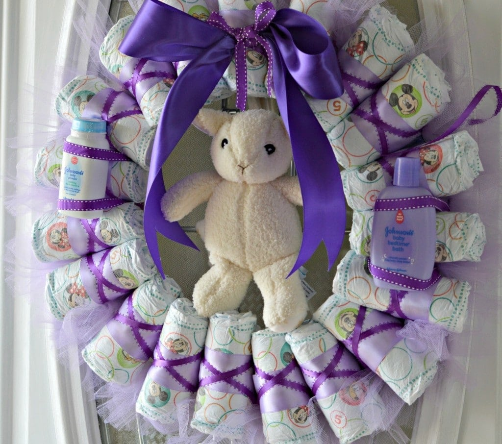 huggies wreath 5
