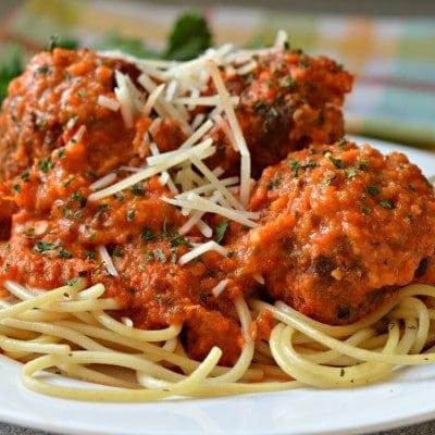 La Mejor Receta de Espagueti y Albondigas