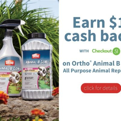 Protect your Plants this Spring + save $1 on Ortho® Animal B Gon® Animal Repellent