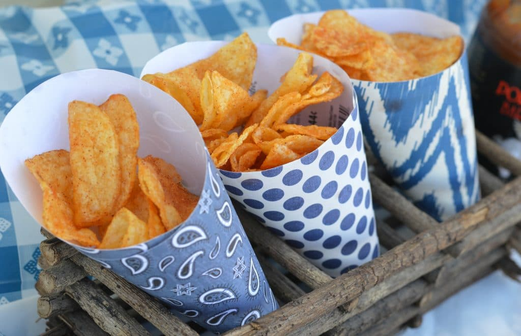 Backyard BBQ ideas - potato chips