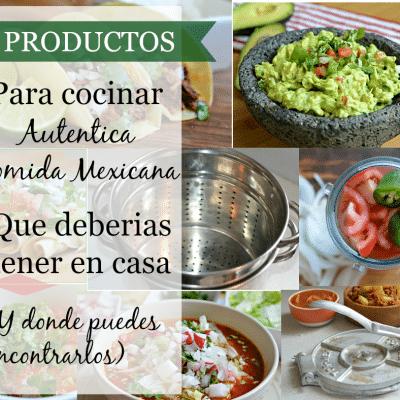 6 utensilios favoritos de la cocina mexicana que todos deberíamos tener y donde puedes encontrarlos