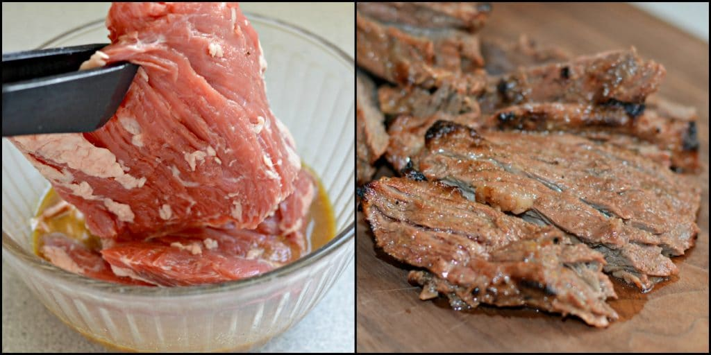 Carne Asada Preparation