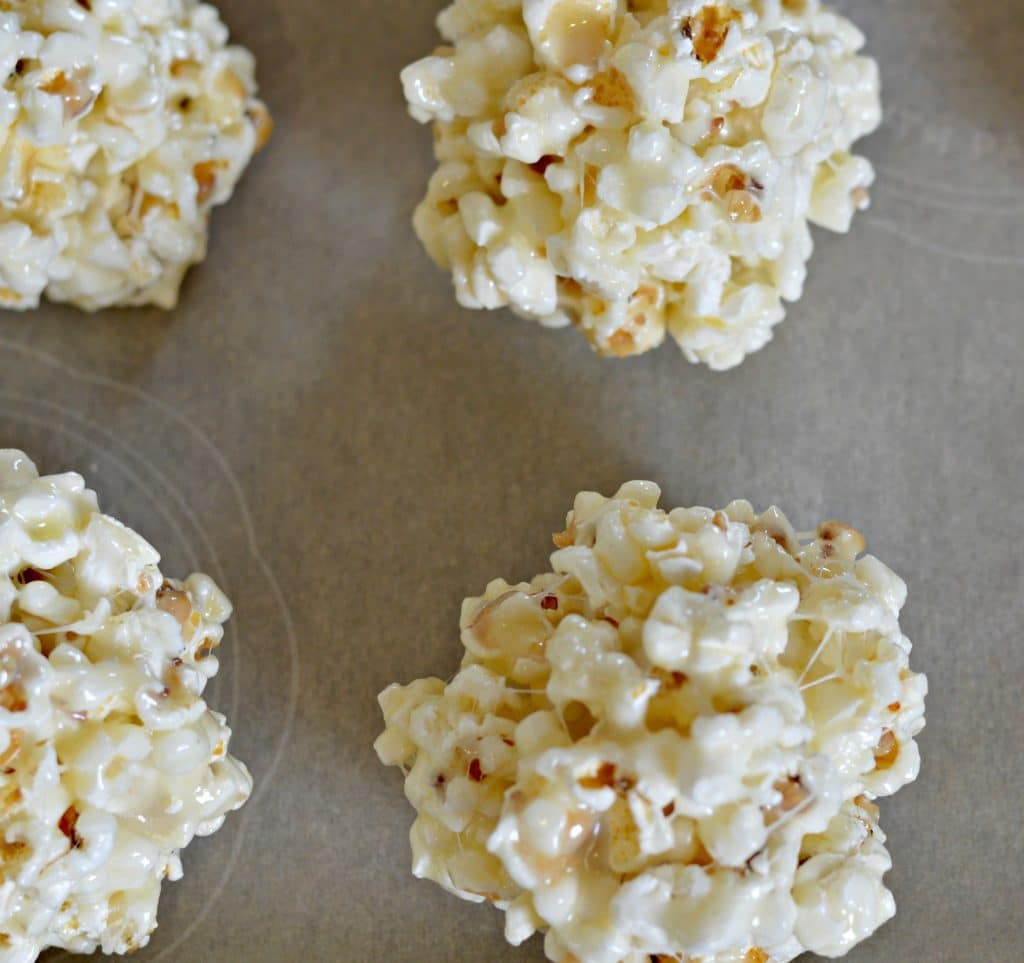 Popcorn Balls Being Formed