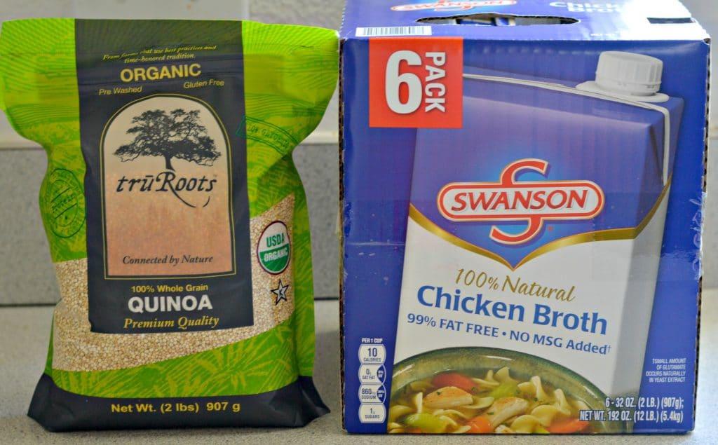 ruRoots Quinoa and Swanson Chicken Broth
