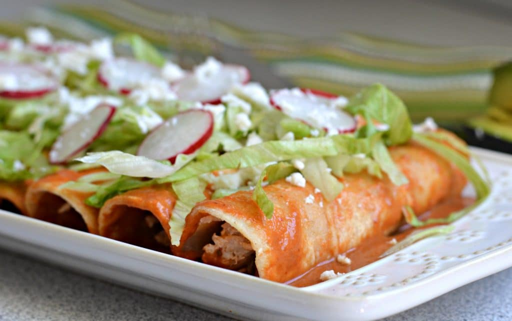 enchiladas rojas 5