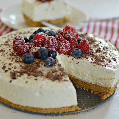 Extra Creamy Yogurt Pie Recipe