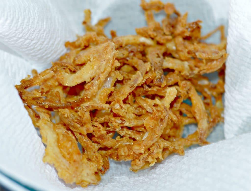 Crispy Onion Straws 6