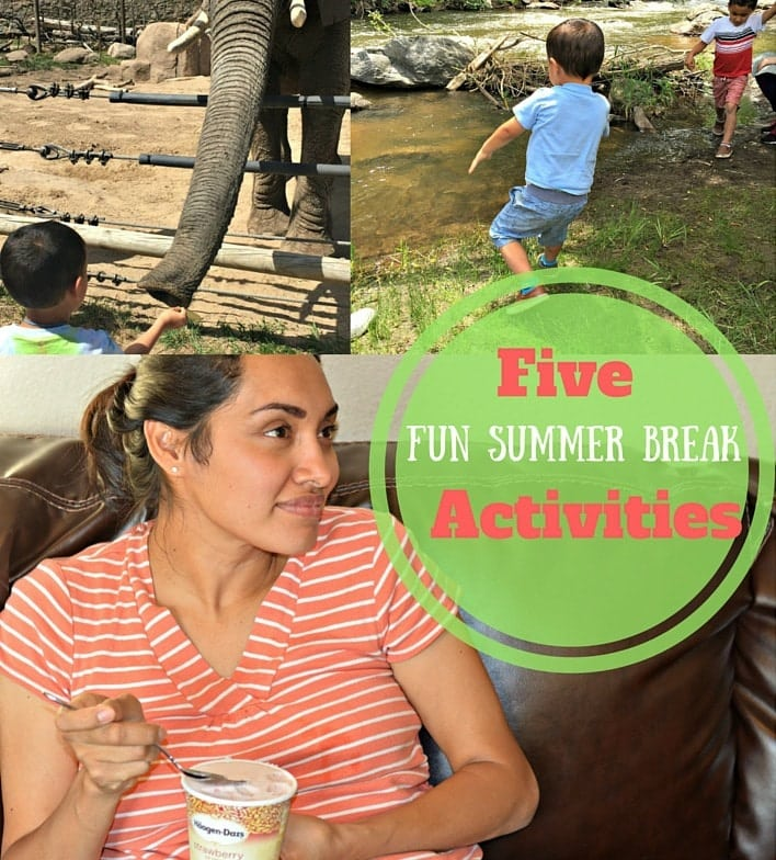 Five Fun Summer Break Activities