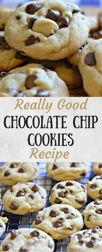 Are these chocolate chip cookies the best? I don't know about that, but I do know that they are really, really, good! If you are looking for a delicious, soft chocolate chip cookie that you don't have to chill before baking, this is the recipe for you!