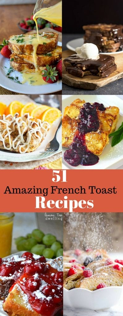 There is a recipe for every French Toast lover here! From savory, to stuffed, to traditional and more - these French toast recipes are sure to please!