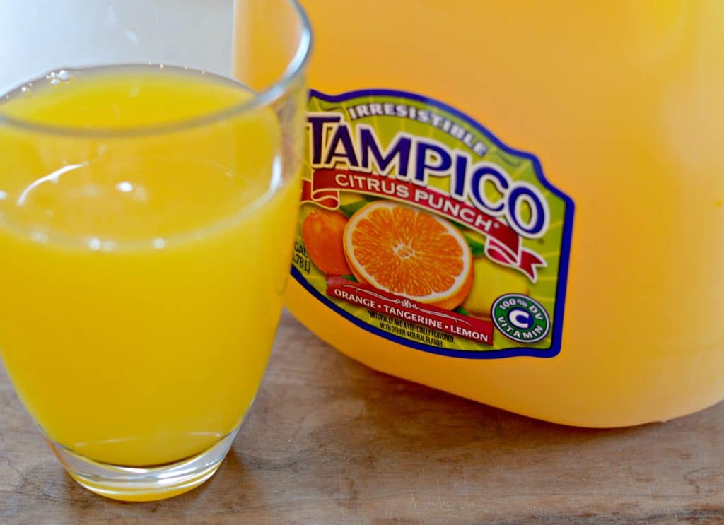 Tampico Citrus Punch After school Snack