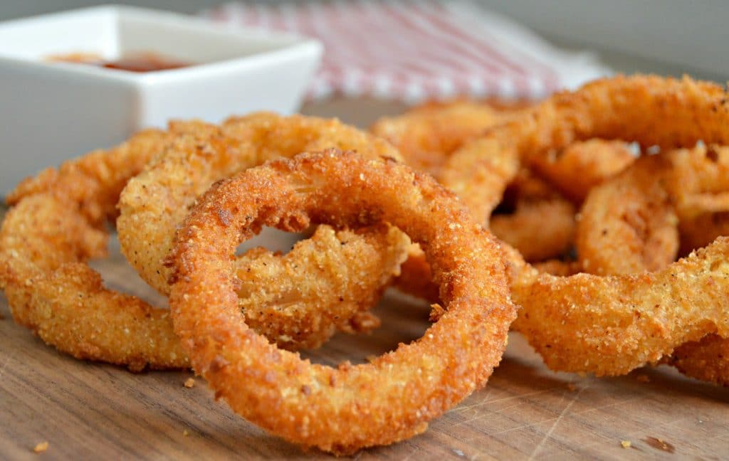 Onion Rings After School Snack