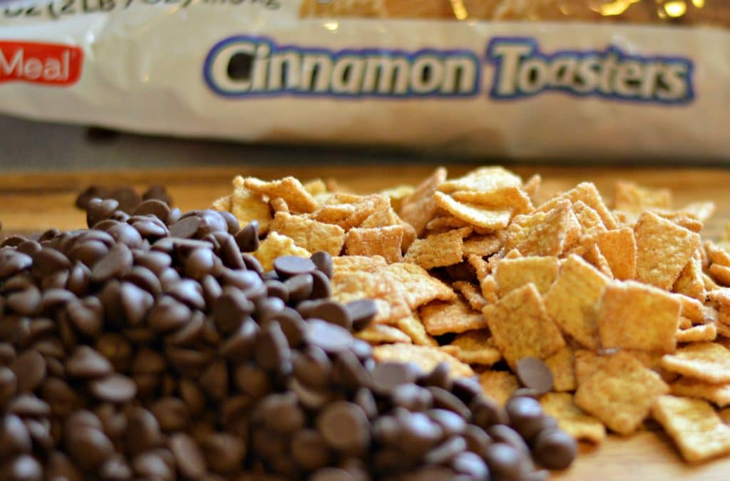 Cinnamon Chocolate Cereal Bars Ingredients