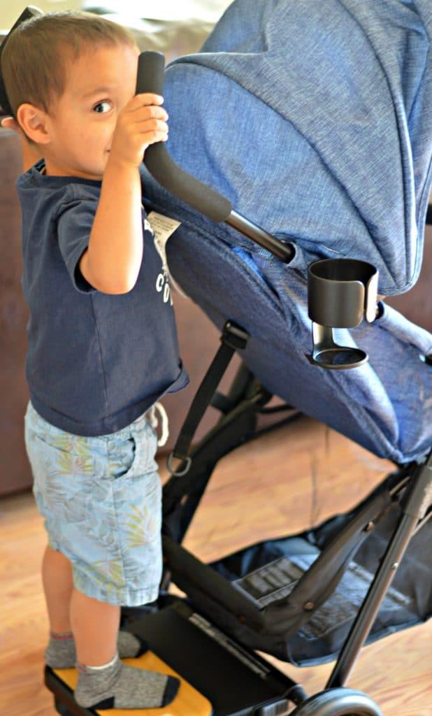 Evenflo Sibby Travel System Liam Riding