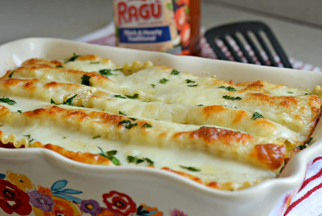 Three Cheese Meat Lasagna Baked