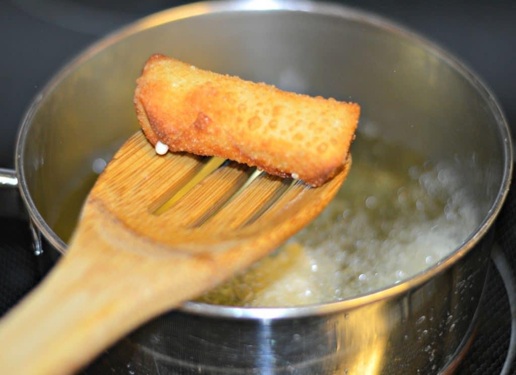 Wonton Mozzarella Sticks Fried