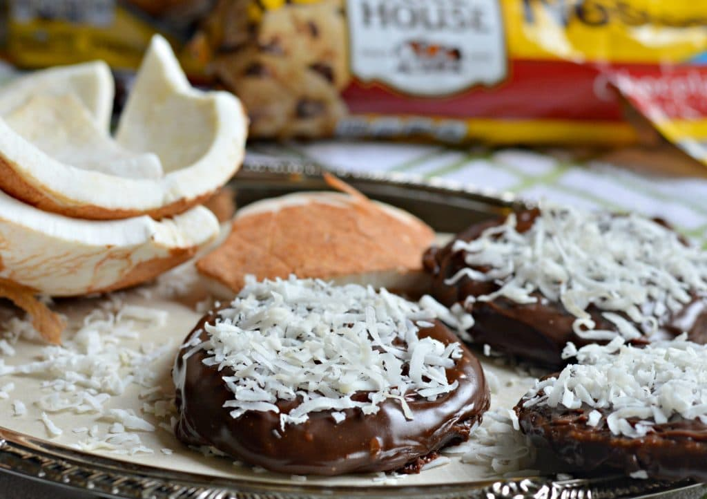 chocolate and coconut covered cookie final