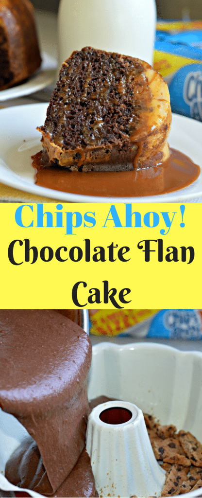 This twist on the Chips Ahoy! Chocolate Flan Cake is delicious and perfect for Merienda!
