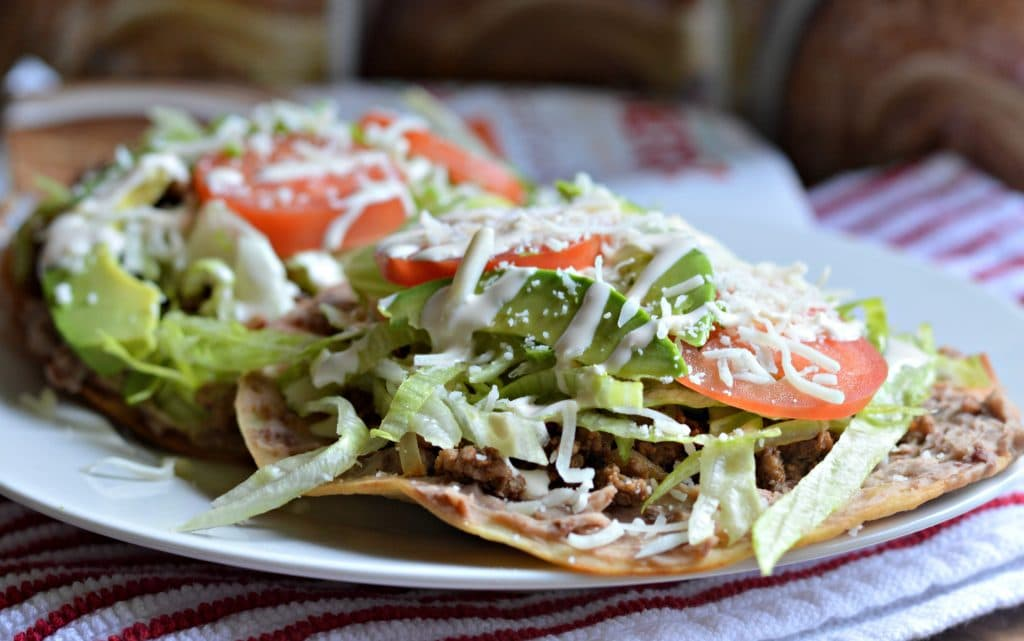... reading for more information and for my simple mexican tostada recipe