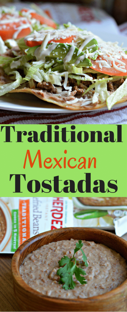These traditional Mexican tostadas are delicious and you can make them in less than 20 minutes!