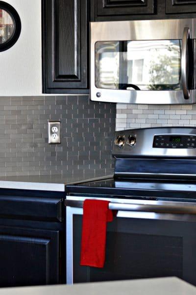 Kitchen Backsplash Transformation