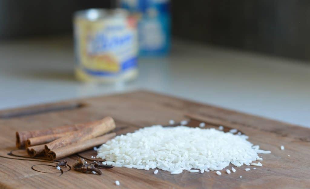 Arroz con leche rice pudding 3