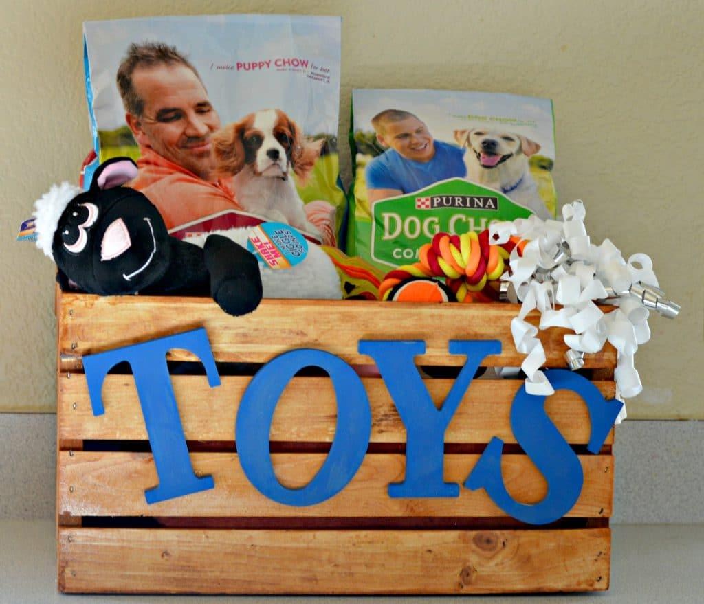 DIY Toy Box Dog